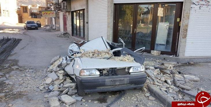 خرابی های پل ذهاب بعد از زلزله+ تصاویر