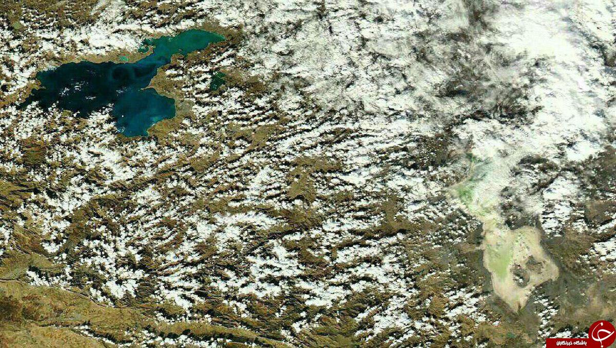 دریاچه ارومیه محو شد!+ عکس