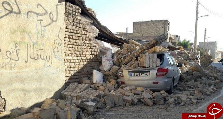 خرابی های زلزله در شهرستان قصرشیرین+ تصاویر