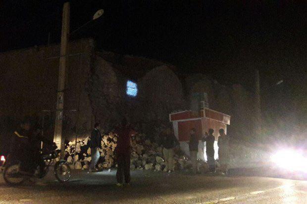 آسیب زلزله به آثار تاریخی  استان کرمانشاه