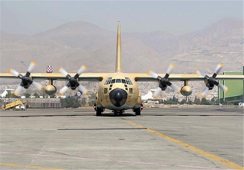 اعزام هواپیماهای C130 به مناطق زلزلهزده