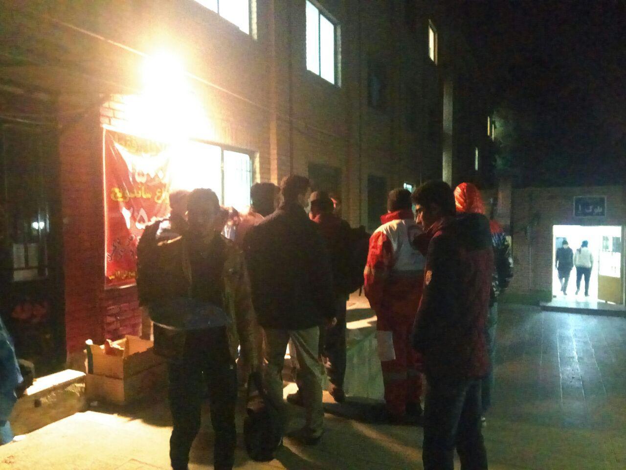 اعزام گروه امدادی بسیج دانشجویی به مناطق زلزلهزده
