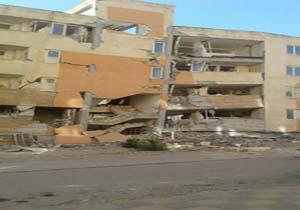 خسارتهای واردشده به ساختمانهای مسکونی در سرپل ذهاب + تصاویر