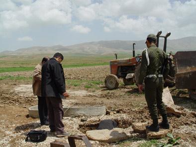 حفر یک حلقه چاه در قادر آباد