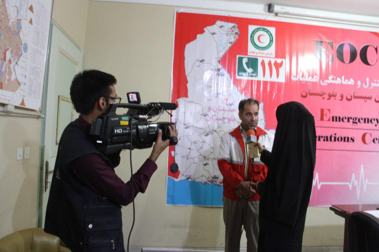آمادگی کامل نیروهای هلال احمر استان برای کمک به زلزله زدگان غرب کشور