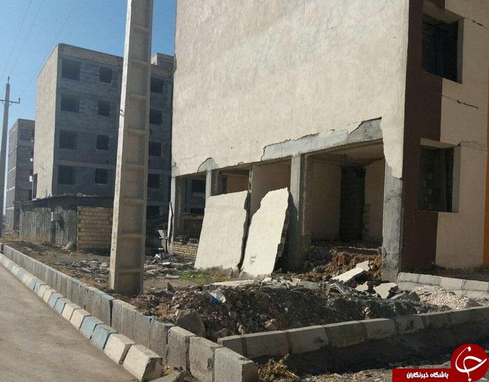 تصاویر جدید از آثار و خرابی زلزله در اسلام آباد غرب