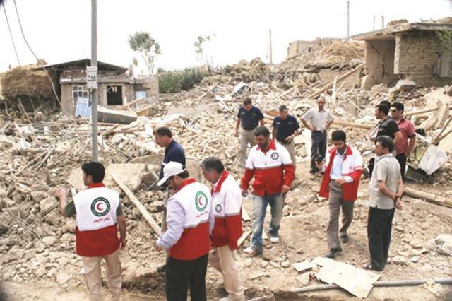 دهیاریها، بخشداریها و فرمانداریها، آماده دریافت گزارش خسارات زلزله در استان