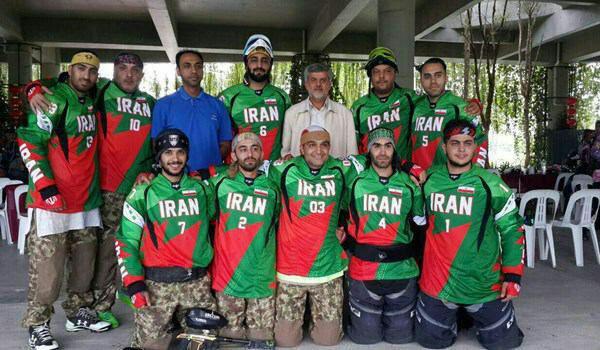 تیم پینت بال ایران قهرمان آسیا و بین قاره ای جهان شد