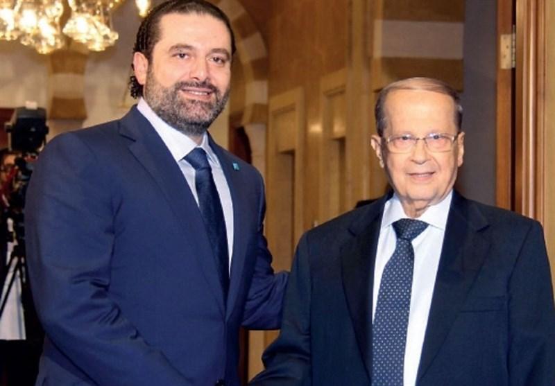 تاکید میشل عون بر مثبت بودن نتیجه تلاشها برای بازگرداندن سعد الحریری به لبنان