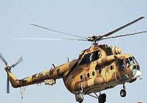 بالگردهای ارتش کار امدادرسانی به مصدومان انجام می دهند