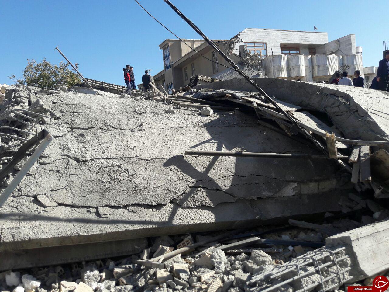 خرابیهای ناشی از زلزله در اسلامآباد غرب + فیلم و تصاویر