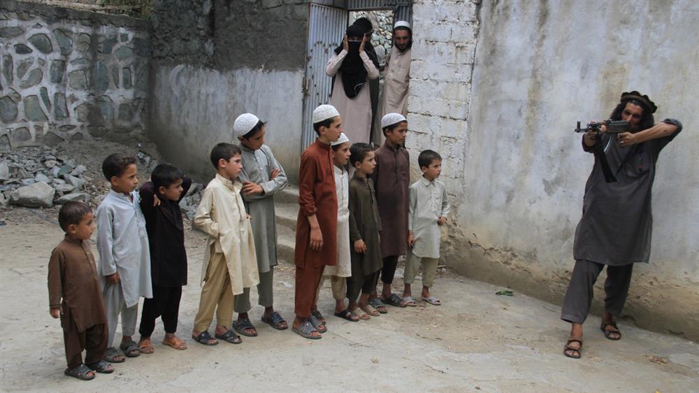 آموزش حملات انتحاری به کودکان جوزجان توسط اساتید خارجی
