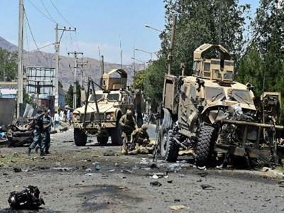 حمله انتحاری به کاروان نظامیان ناتو در ولایت قندهار