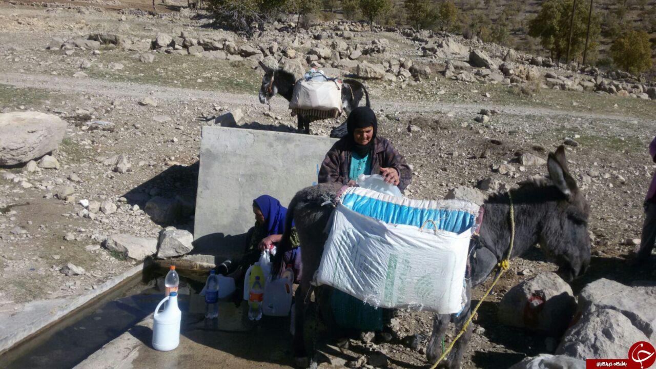 نبود آب آشامیدنی سالم در روستای «بربید محمدقلی» + تصاویر