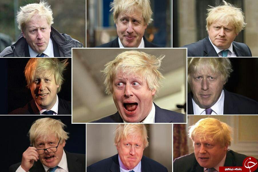 ظاهر متفاوت وزیر خارجه انگلیس در برابر دوربین رسانهها+ عکس