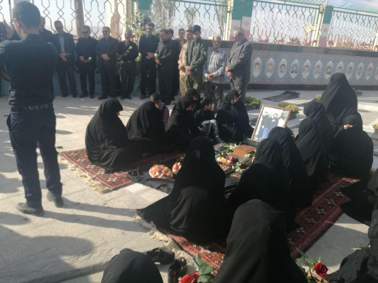 فعالان رسانه ای استان با شهید خزائی تجدید میثاق کردند