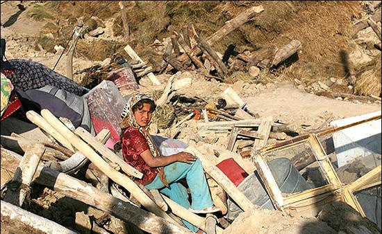 استقرار تیمهای مددکاری و روانشناسی بهزیستی در مناطق زلزله زده