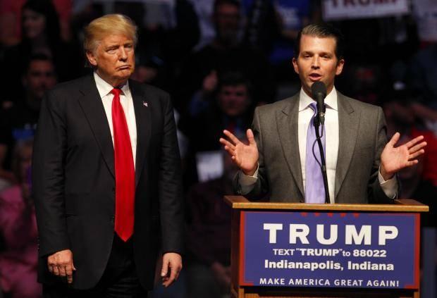 پسر ترامپ و ویکی لیکس در جریان انتخابات پیامهای خصوصی رد و بدل میکردهاند