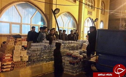 ارسال امکانات ستاد مردمی اربعین به کرمانشاه
