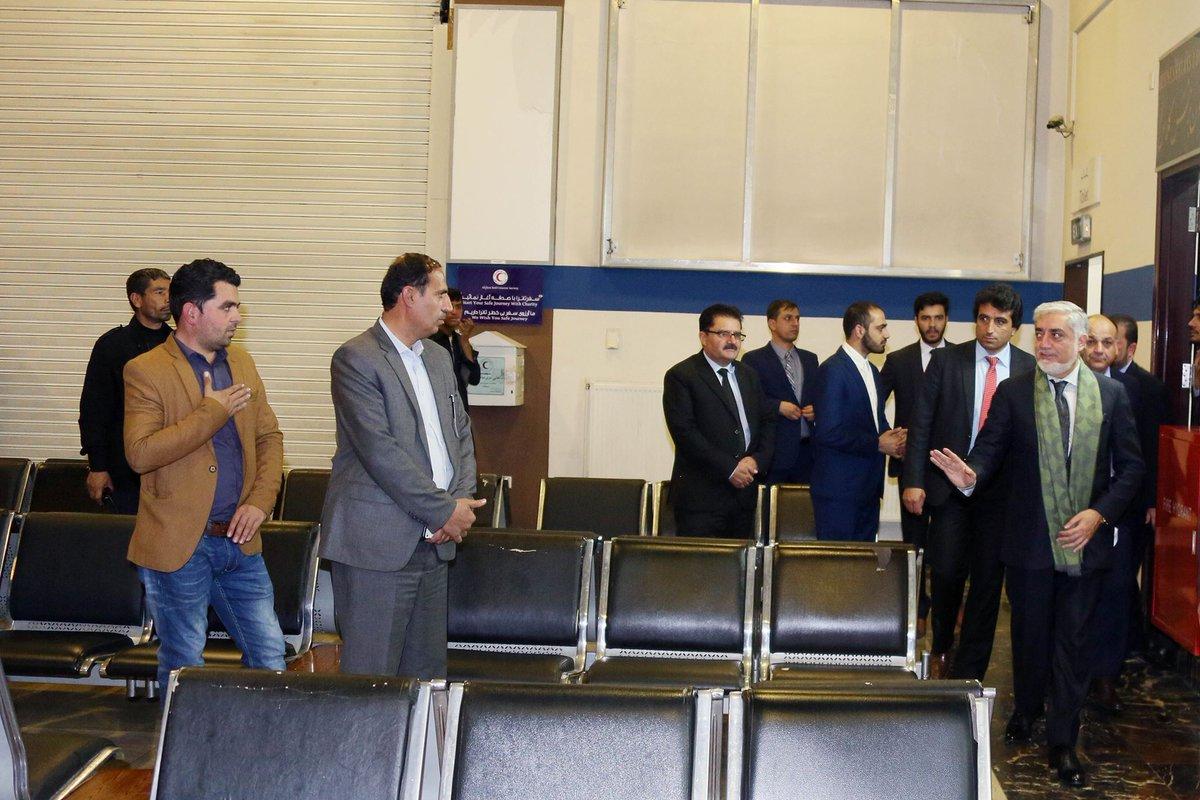 حضور «عبدالله» در سال انتظار پروزازها، سوژه کاربران اینترنتی افغانستان