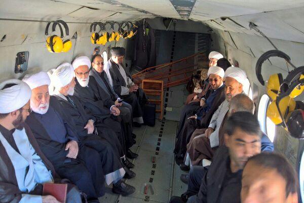 ورود هیئتی ویژه از سوی مقام معظم رهبری به مناطق زلزله زده کرمانشاه