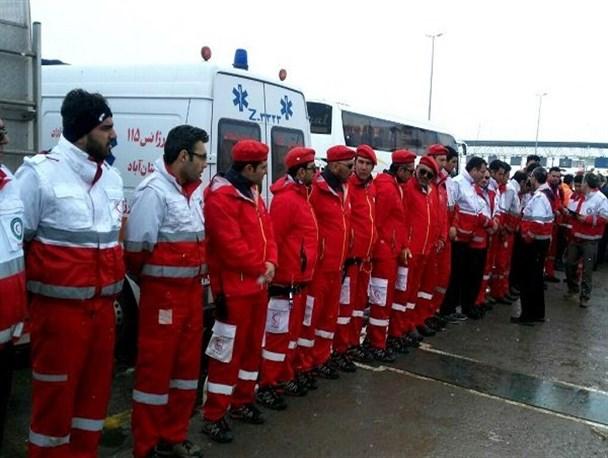 اعزام تیمهای امدادی و آمبولانس از اسدآباد به سرپل ذهاب