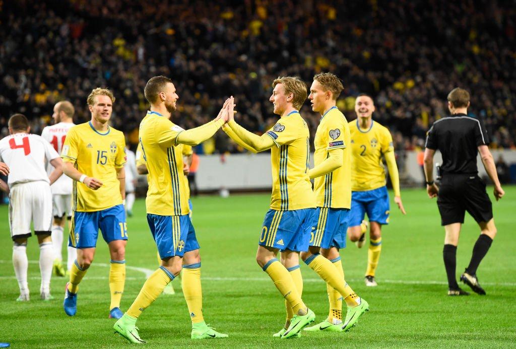 سوئدی ها چراغ خاموش آمدند / حذف غول های فوتبال توسط وایکینگ ها