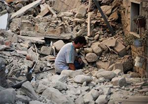 فیلمی از بلای وحشتناکی که زلزله بر سر کرمانشاه آورد