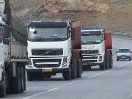 لغو محدودیت تردد خودرو های سنگین در جاده ایلام - مهران