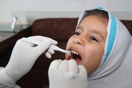 اجرای طرح سلامت دهان و دندان در مدارس زنجان