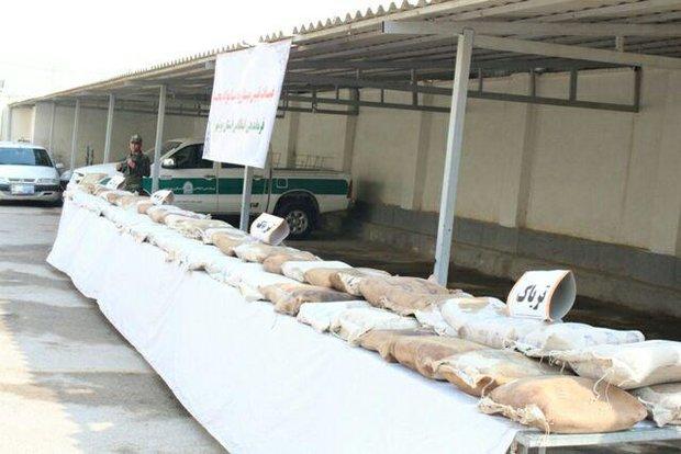 کشفیات مواد مخدر در استان بوشهر ۱۹۶ درصد افزایش یافت