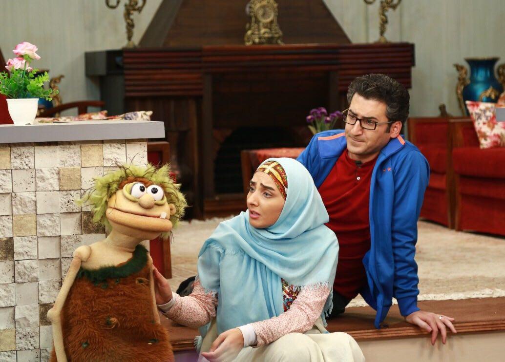 صداپیشه «فامیل دور» با عروسکگردان «جناب خان» همکاری میکند