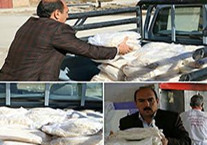 ارسال بیش از 15 هزار قرص نان به مناطق زلزله زده کرمانشاه