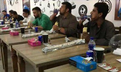 برگزاری مسابقه پرخورترین مردان هرات!
