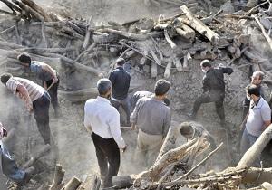 جانباختن 430 نفر در زلزله تا بدین لحظه