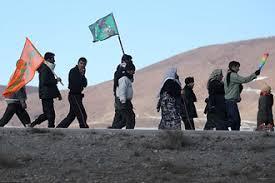 مدیران کاروان مسئول تامین امنیت زائران پیاده به مشهد هستند