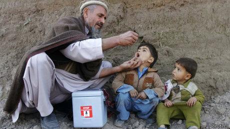 بیماری فلج اطفال، بدون هماهنگی افغانستان و پاکستان ریشه کن نمی شود