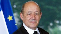 پیام وزیر امور خارجه فرانسه در رابطه با زلزله غرب کشور