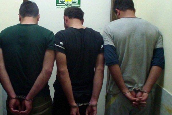 ۳ عضو باند قاچاق مواد مخدر در دیلم دستگیر شدند