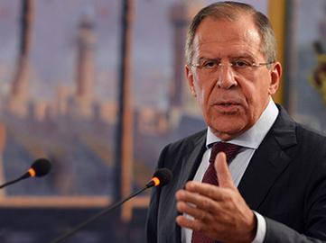 لاوروف: اقدامات روسیه و ایران در سوریه قانونی است
