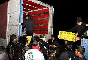 آمادگی موکبداران استان مرکزی برای پخت و توزیع 10 هزار پرس غذای گرم در مناطق زلزلهزده