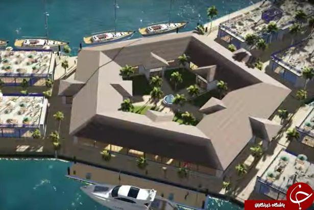 ساخت نخستین شهر شناور جهان در اقیانوس آرام+تصاویر