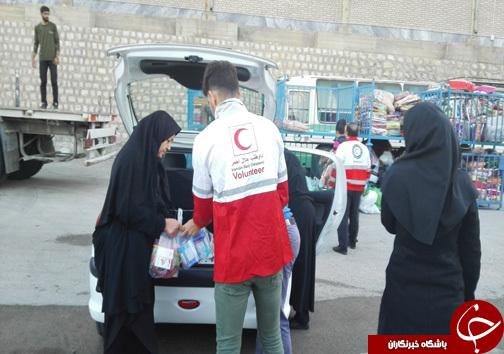 لرستان؛ ارسال کمکهای مردمی و دولتی لرستان به مناطق زلزلهزده + تصاویر