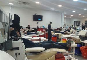 اهدای خون؛ ارسال 4 محموله انواع گروههای خونی از بروجرد به کرمانشاه