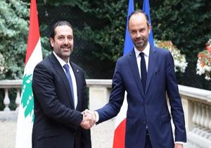 نخست وزیر فرانسه خواستار بازگشت آزادانه سعد حریری به لبنان شد