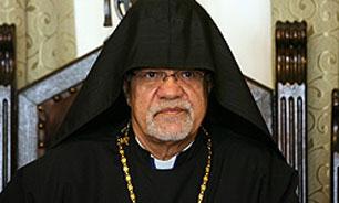 پیام تسلیت اسقف اعظم سیبوه سرکیسیان در پی وقوع زلزله در استان کرمانشاه