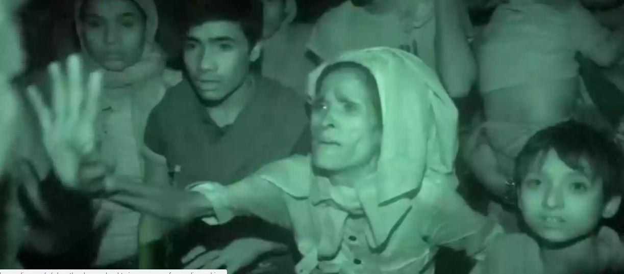 گزارشی از وضع اسفناک روهینگیاییهای به دام افتاده در میانمار