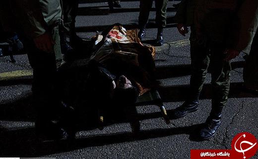 عکسهای تکان دهنده از زلزله کرمانشاه