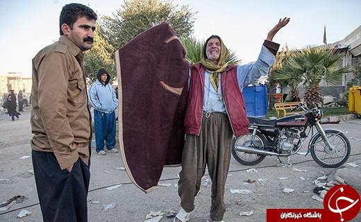 عکسهای تکاندهنده از زلزله کرمانشاه