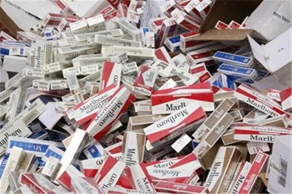 کشف ۲۰۰ هزار نخ سیگار قاچاق در مهرستان
